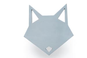 Wall hook Origami Fox
